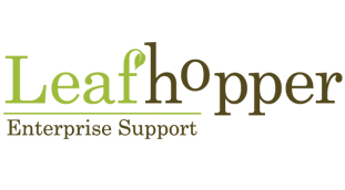 Leafhopper Enterprise Support Logo
